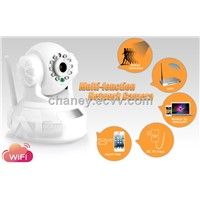 IP Camera P2P Wifi Wireless Pan & Tilt Remote Control Camera 1/3 CMOSBuilt-in Microphone
