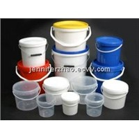 Plastic Bucket with Lid,Bucket Mould,Plastic Pails with Rich Colors and Finish