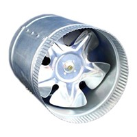In-Line Booster Fan for Hydroponics System