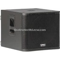 "KW181 18"" PORTED 1000 Watt Active Subwoofer with Casters"
