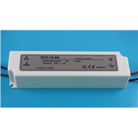 IP67 waterproof Led power supply 12V 60W STV-12-60