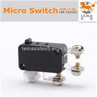 Lema KW-7-0L screw micro switch