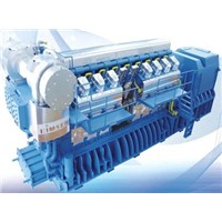 competitive gas generator set of HYUNDAI series