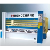 MH3848X160T hot press(3 layer) for woodworking machine