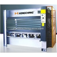 MH3848X160T hot press(5 layer) for woodworking