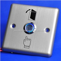 ML-EB12 Stainless Steel Exit Button with LED/LED push button/LED exit switch/access control