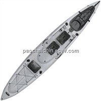 Malibu Kayaks LLC X-Factor Fish and Dive Kayak Color: Stone