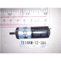 Micro geared motor TE16KM-12-384(substitution)