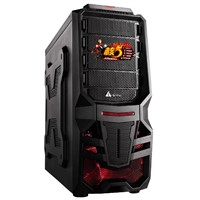 Mid Tower ATX PC Case,gaming computer case 7209