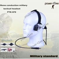 Military bone conduction tactical headset