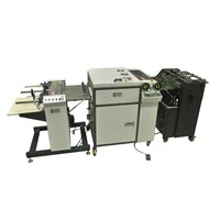 Mini Automatic UV Coater / UV Coating Machine