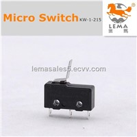 Miniature lever handle switch