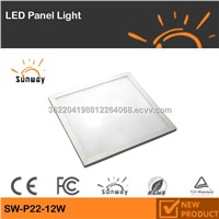 NEW SUNWAY 12w square led panel light,led panel light,12w led panel light