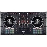 NS7II 4-Channel Motorized DJ Controller and Mixer