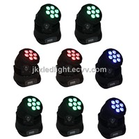 New High Bright 7*12w DMX LED Moving Head Light