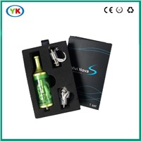 New product vivi novas clearomizer with dual coil and large smoke