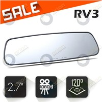ORION Newest 2.7 TFT Car dvr Rear-view mirror CMOS Carcam GPS dashcam HD DVR-RV3