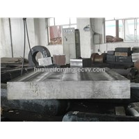 Open die forging die blocks for plastic injection moulds
