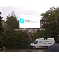 Outdoor P20 advertising high brightness bill board led display screen