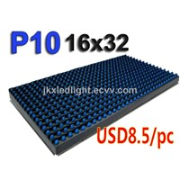 P10 Blue Waterproof Single Color LED Display Module LED Advertising Signs Module LED Panel