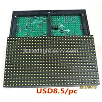 P10 led module Waterproof Outdoor module & P10 Single Yellow  /led advertising signs