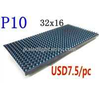 P10 Semi- outdoor 320*160 P10 Single Blue Unit Plate P10 LED Module