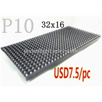 p10 Semi-Outdoor White Module 32*16 Pixels LED Panel Display Module Board with High Brightness