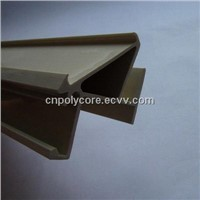 PVC Extrusion for Commercial Freezer