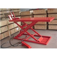 Pneumatic hydraulic scissor motorcycle lift SL-2013