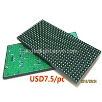 Programmable LED Signs LED Advertising Screen Display Unit Board Plate 320 Mm * 160 Mm Single Green