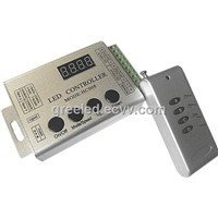 RF digital led controller with133 effects program buit-in(for WS2811 WS2801 TM1809 UCS1903etc)