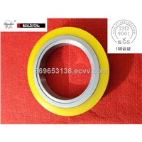 Rubber bonded steel spacers