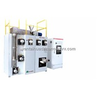 Small fiber spinning machinery