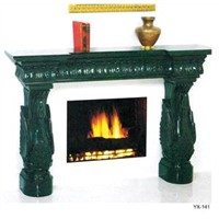Stone Fireplace, Granite Marble Fireplace, Fireplace Surrounds
