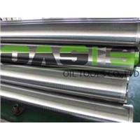 Threaded end stainless steel water well screen