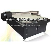 UV Glass Flatbed Printer, high definition white ink printing, 1440dpi