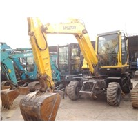 Used Hyundai R60W-7 Wheel Excavator