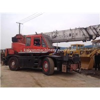 Used KOMATSU 25ton Rough Terrain Wheel Crane In Good Condition