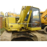 Used KOMATSU Crawler Excavator PC120-7 Original Paint/ Low Hours
