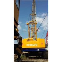 Used Kobelco P&H 7055 55T Crawler Crane In Good Condtion