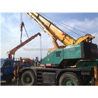 Used Kato Rough Terrain Crane TADANO KR25H-3/ Tadano 25t Original Japan Very Good Condition