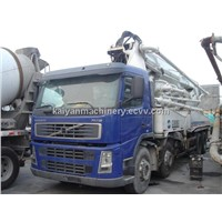 Used VOLVO FM12 Concrete Pump in Good Condition