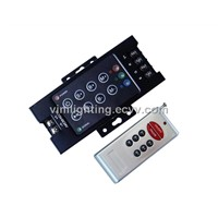 RF RGB led controller with 3 channels