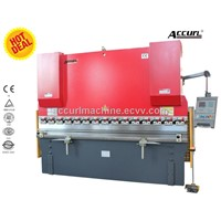 WC67Y 160T4000 CNC Press Brake, CNC Hydraulic Plate Bending Machine, Metal Sheet Bender Machine