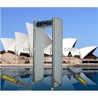 Waterproof Walk through metal detector, for outdoor use