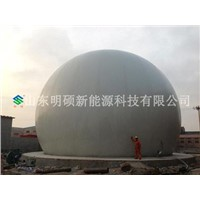 biogas double membrane gas holder