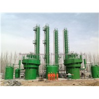 biogas wet method desulfurization system