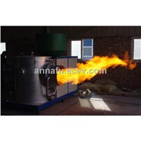 biomass burner connect with industrial boiler