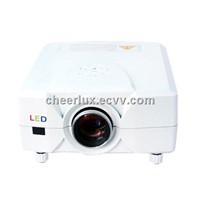 cheap portable projector built in TV with led lamp last 50000 hours