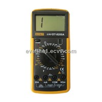 digital multimeter dt9205a with capacitance test